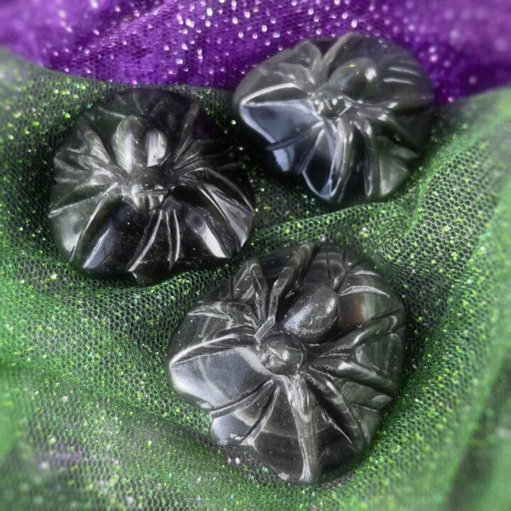 Black Obsidian Spider