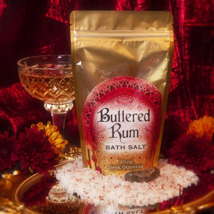 Buttered Rum Bath Salt