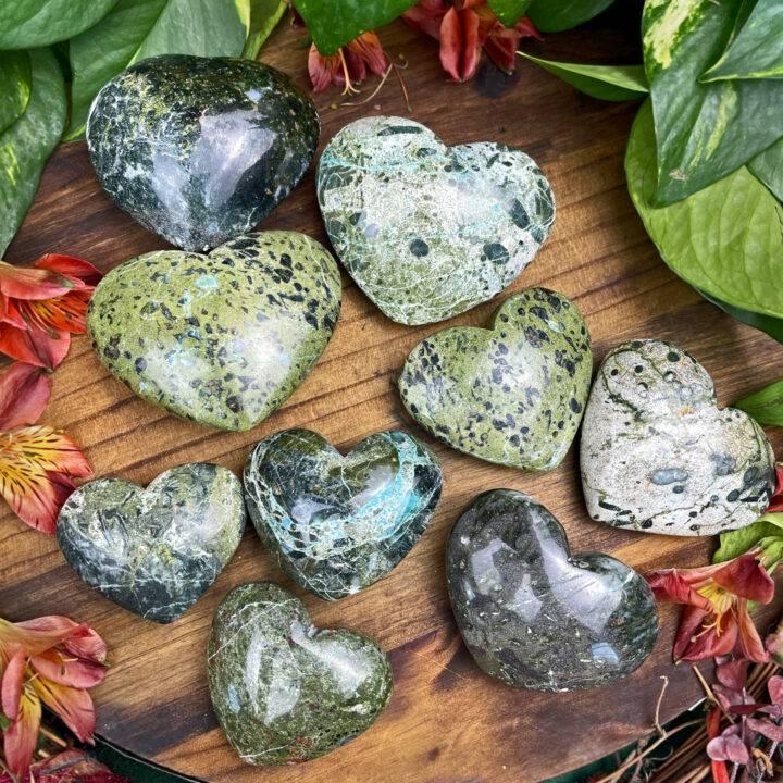 Compassion Stone Heart