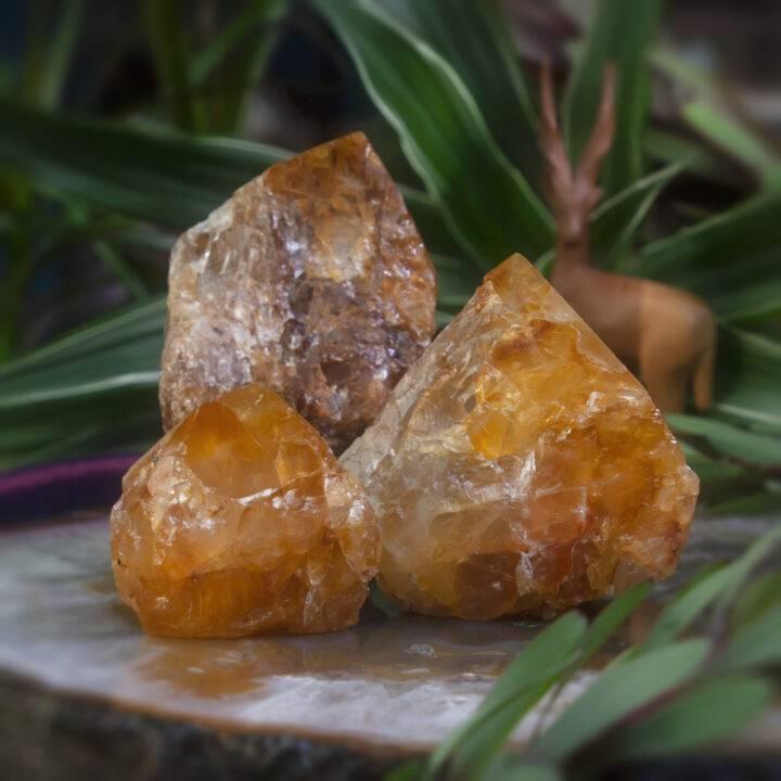 Golden Healer Quartz Natural-Sided Generator