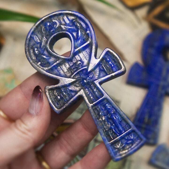 Lapis Lazuli Royal Ankh