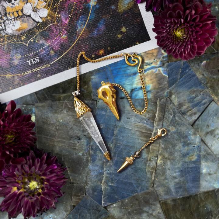 New Moon Divination Magic: Pendulum Set