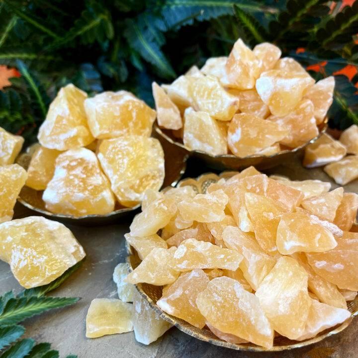 Natural Orange Calcite