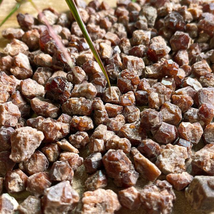 Natural Orange Andradite Garnet