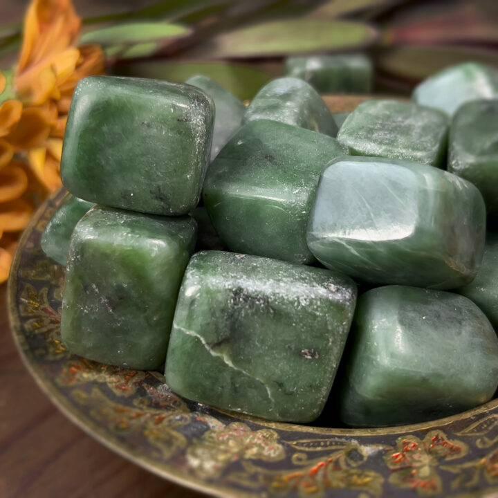 Tumbled Nephrite Jade