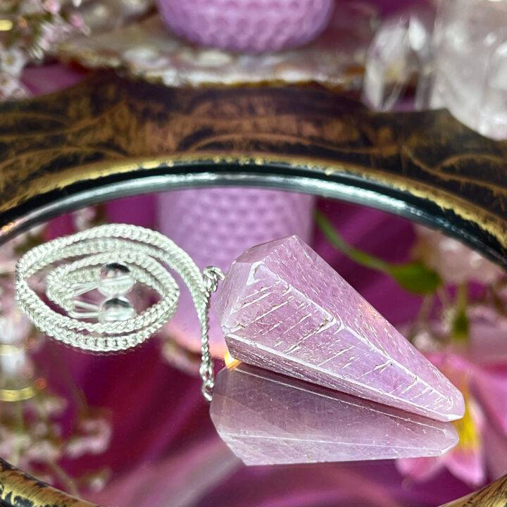 Pink Sapphire Passion Pendulum