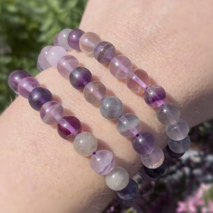 Purple Fluorite Soul Path Bracelet