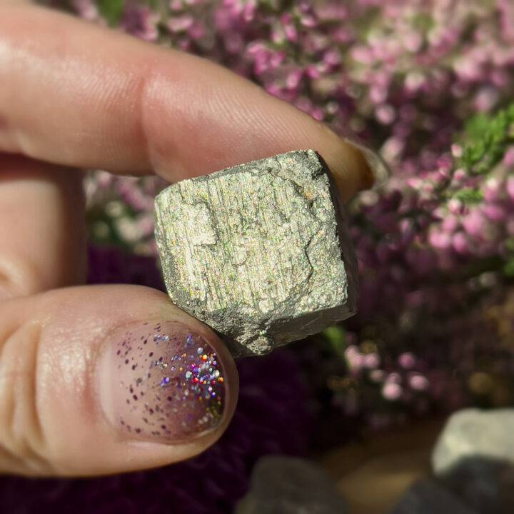 Pyrite Confidence Cube