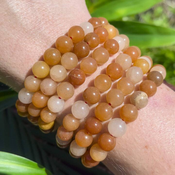 Red Aventurine Strength and Recovery Bracelet