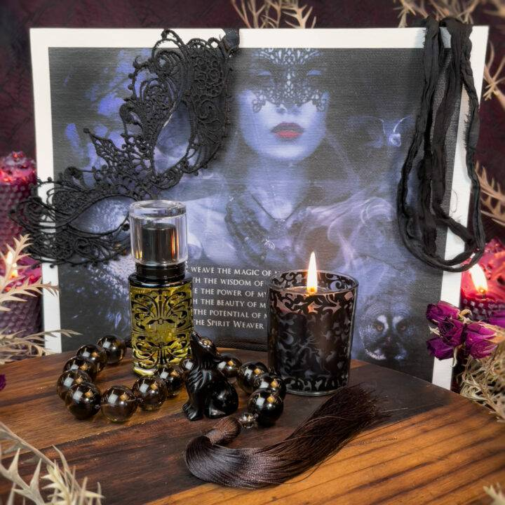 Samhain Black Ball Wheel of the Year Set