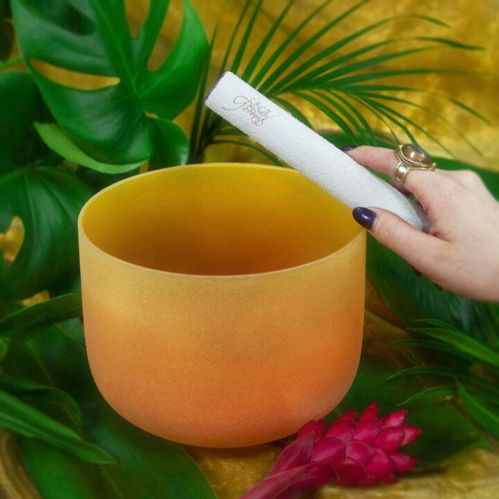Solar Plexus Crystal Singing Bowl