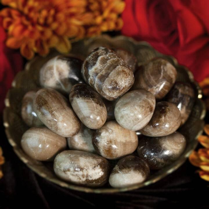 Tumbled Chocolate Calcite