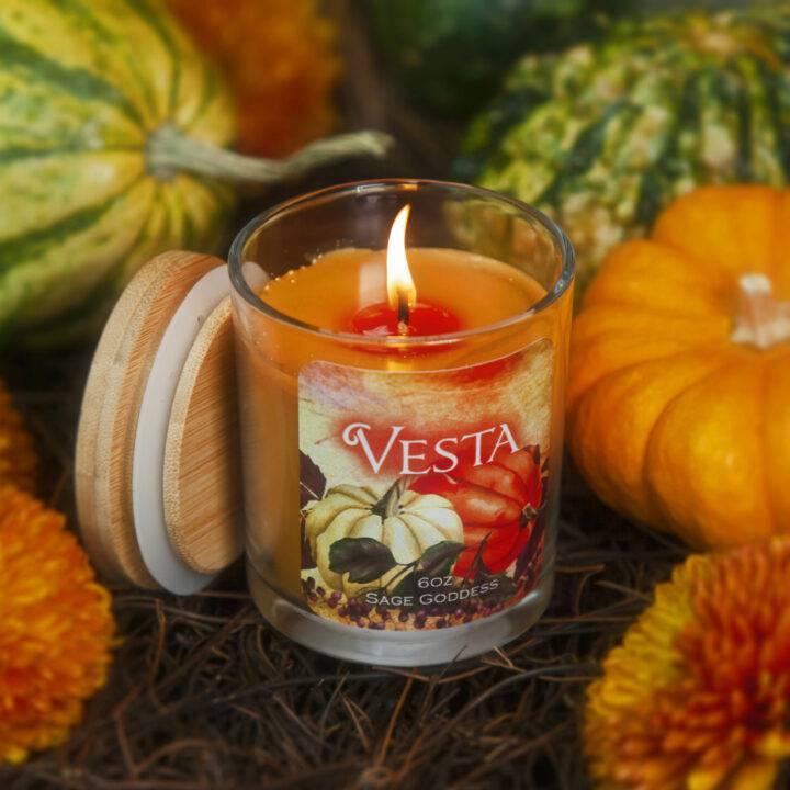 Vesta Intention Candle