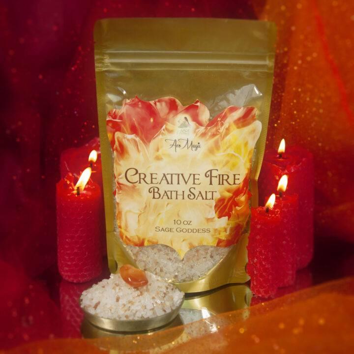 Creative Fire Bath Salt