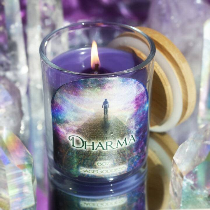 Dharma Intention Candle