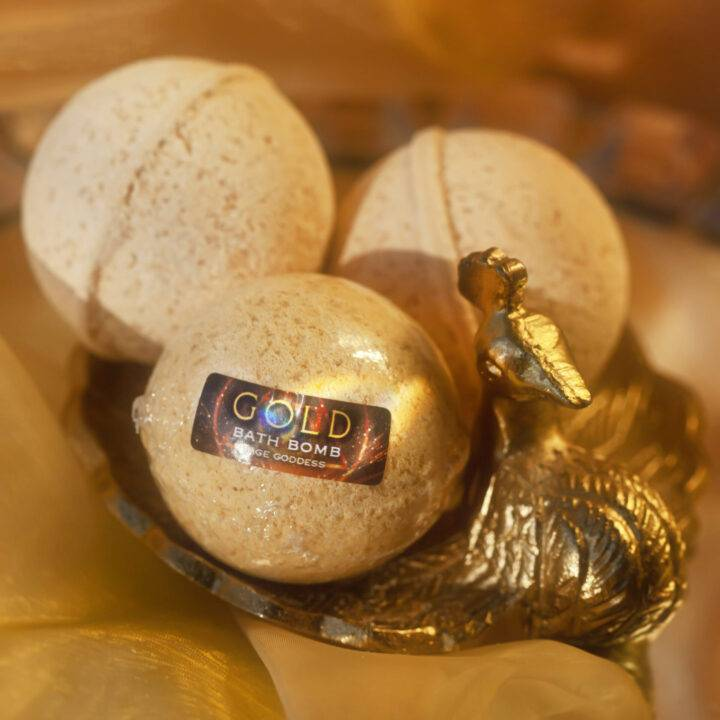 Gold Bath Bomb