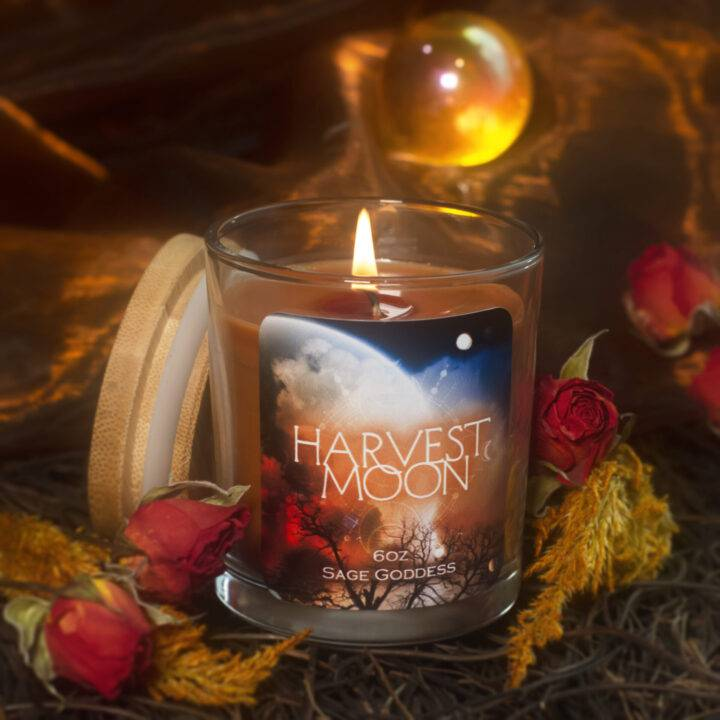 Harvest Moon Intention Candle