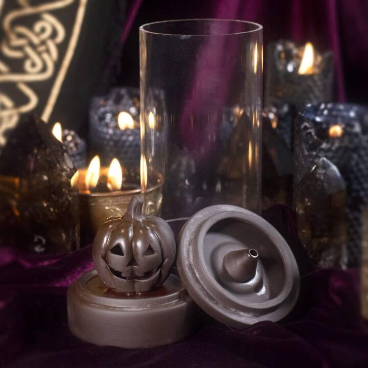 Jack-O'-Lantern Smoky Magic Incense Burner