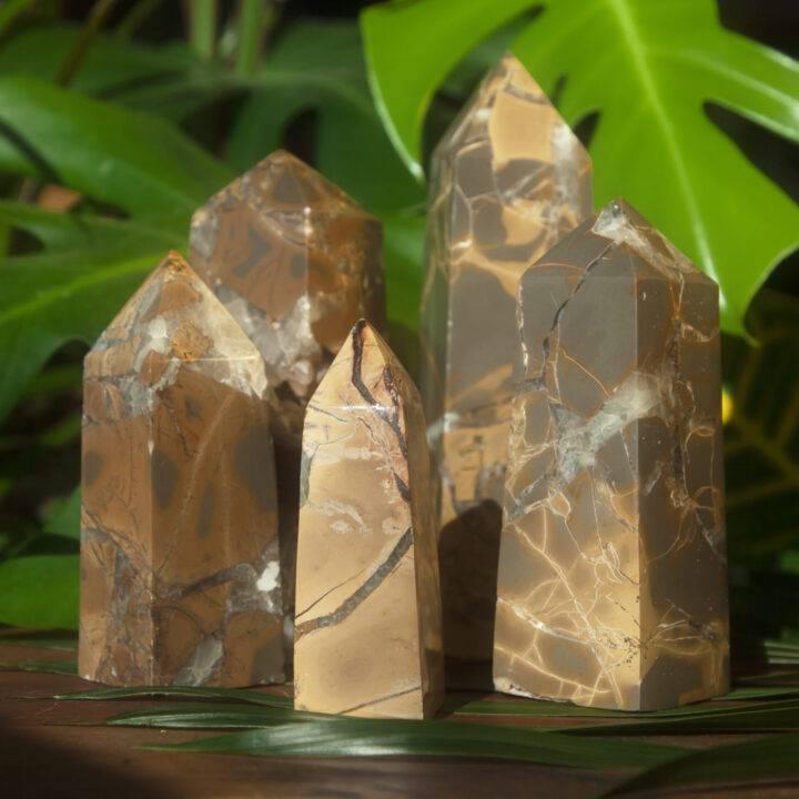 Magic of Atlantis Indonesian Septarian Obelisk