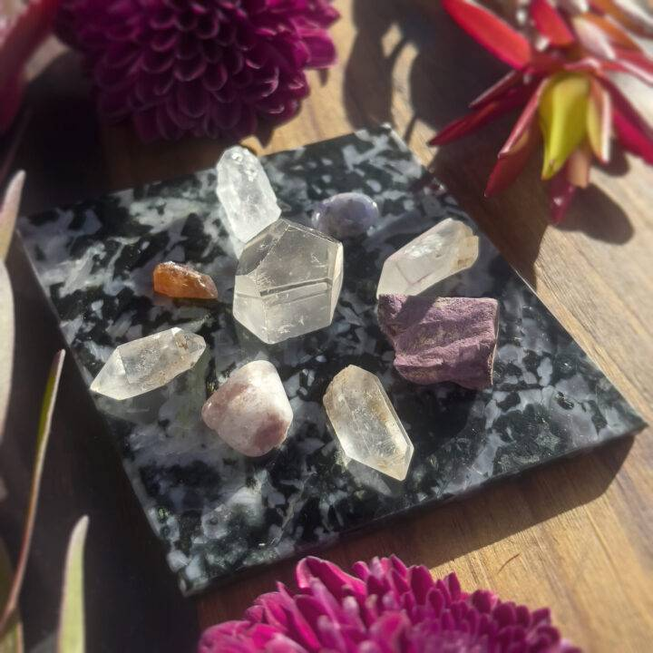 Merlinite Rhombus Intuition and Protection Grid