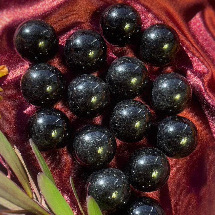 Mini Black Obsidian Protection Sphere