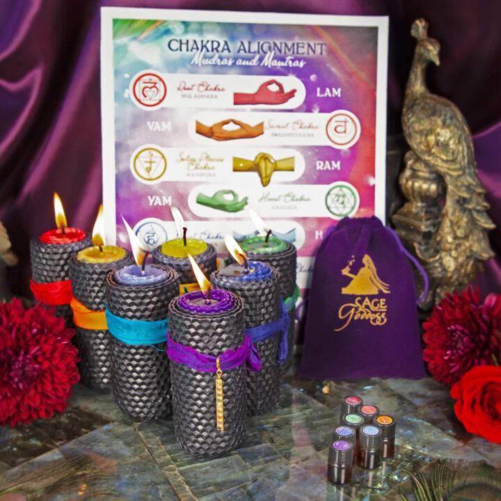 New Moon Divination Magic: Chakra BeeBop Set
