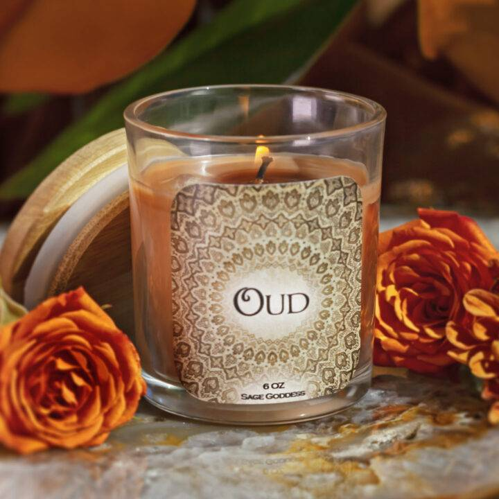 Oud Intention Candle